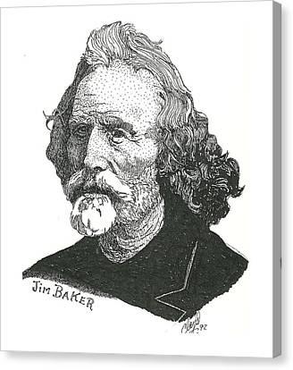 Jim Baker Canvas Print