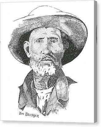 Jim Bridger Canvas Print