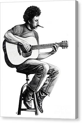 Jim Croce Canvas Print by Danielle R T Haney