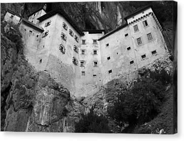 Jim Jam Predjama Castle Slovenia Canvas Print