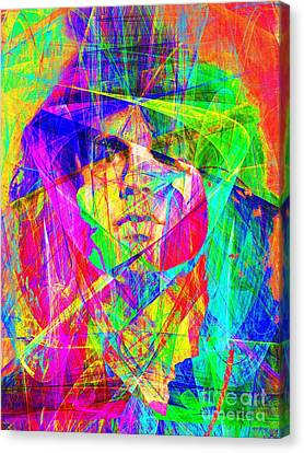 Kitschy Canvas Print - Jim Morrison 20130613 by Wingsdomain Art and Photography