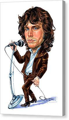 Jim Morrison Canvas Print by Art