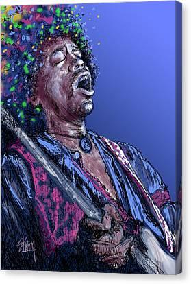 Jimi 3 Canvas Print by Stan Kwong