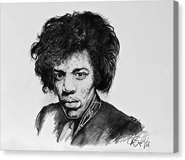 Jimi Canvas Print by Art Imago