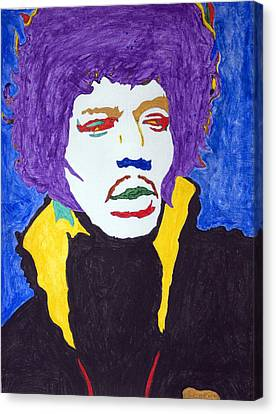 Jimi Hendrix Purple Haze  Canvas Print