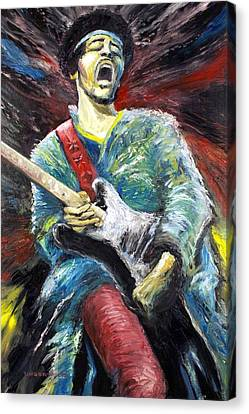 Jimi Hendrix Spanish Castle Magic Canvas Print