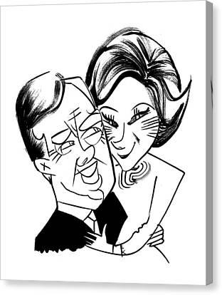 Jimmy And Rosalynn Carter Canvas Print