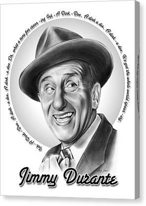 Jimmy Durante Canvas Print