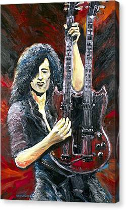 Jimmy Page The Song Remains The Same Canvas Print