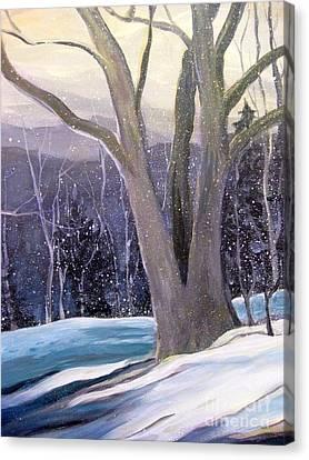 Jingle Bells C Canvas Print by Gretchen Allen