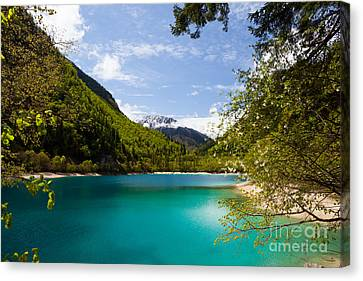 Canvas Print - Jiuzhaigou Sichuan China by Fototrav Print