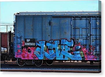 Dean Russo Canvas Print - Jive by Graffiti Girl