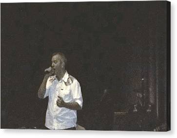 Canvas Print featuring the photograph Jj Grey And  Mofro New Year's Eve by Kelly Awad