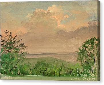 Daviess County Canvas Print - Jo Daviees Skies by Art By Tolpo Collection