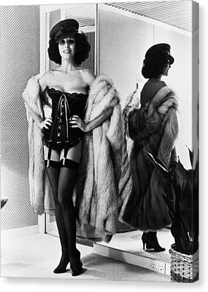 Joan Collins In The Bitch  Canvas Print