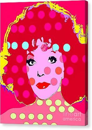 Canvas Print - Joan Collins by Ricky Sencion