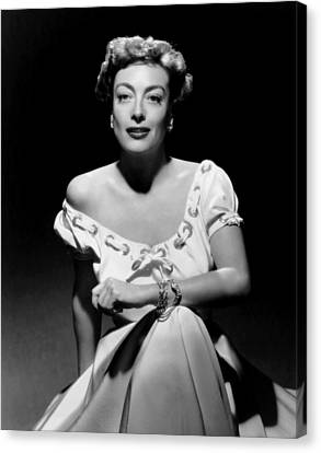 Joan Crawford, Ca. Early 1950s Canvas Print by Everett