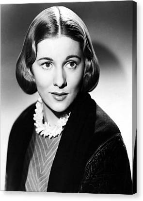 Joan Fontaine In Jane Eyre  Canvas Print