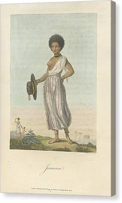 Joanna Canvas Print by British Library