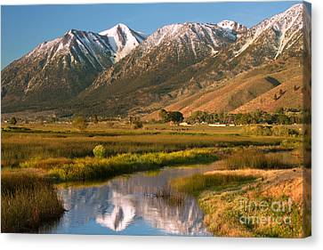Job's Peak Reflections Canvas Print