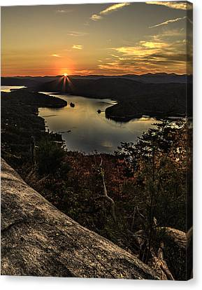 Jocassee Gold Canvas Print