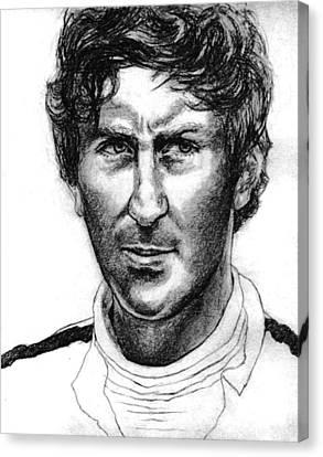 Jochen Rindt Canvas Print by Diane Fine