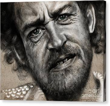 Joe Cocker Canvas Print by Andre Koekemoer