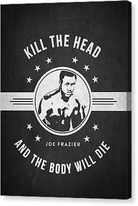 Joe Frazier - Dark Canvas Print