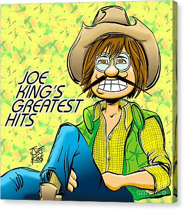 Joe Denver Canvas Print by Joe King