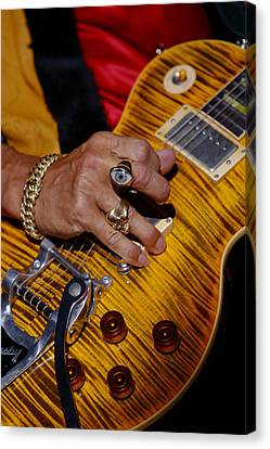 Canvas Print featuring the photograph Joe Perry - Aerosmith by Don Olea