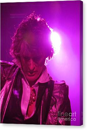 Canvas Print featuring the photograph Joe Perry Picture by Jeepee Aero