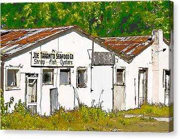 Joe Taranto Seafood Co Canvas Print