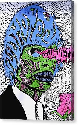 Joe The Monster Canvas Print