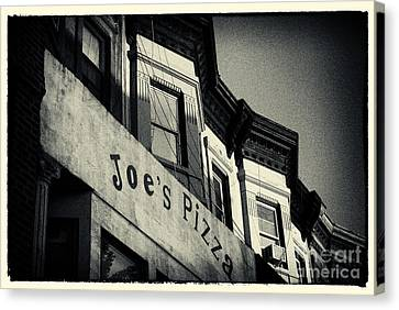 Joe's Pizza Park Slope New York City Canvas Print