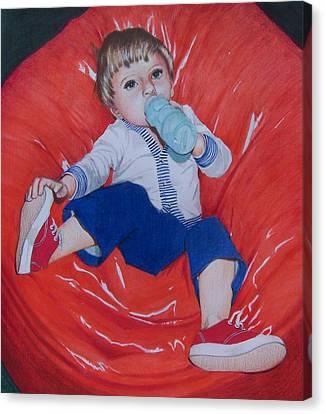 Joey Canvas Print by Constance Drescher