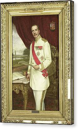 Johan Paul Graaf Van Limburg Stirum 1873-1948 Canvas Print by Litz Collection