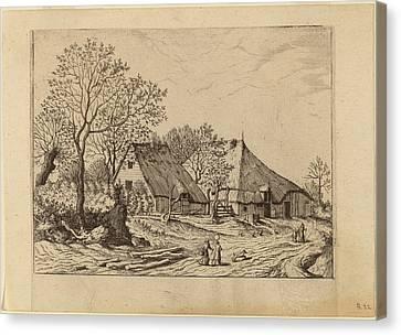 Johannes And Lucas Van Doetechum After The Master Canvas Print