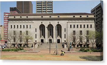 Johannesburg City Library, Beyers Naude Canvas Print by Panoramic Images