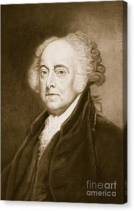 John Adams Canvas Print by George Healy