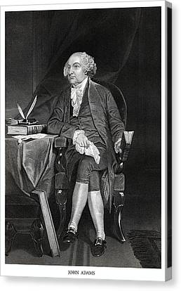 John Adams Canvas Print