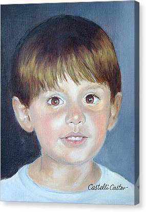 John Albert Mccann Canvas Print by JoAnne Castelli-Castor