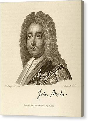 John Anstis Canvas Print by Middle Temple Library