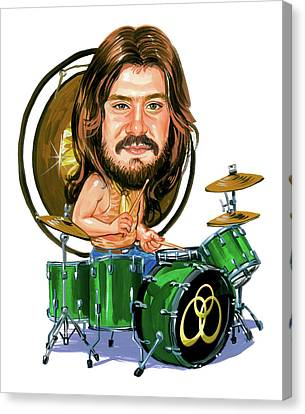 John Bonham Canvas Print by Art