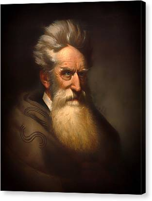 Abolitionist Canvas Print - John Brown by Mountain Dreams