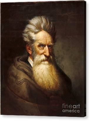 John Brown - Raising Holy Hell  Canvas Print by Pg Reproductions