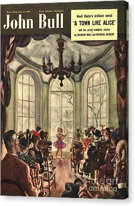 John Bull 1950s Uk Ballet Recitals Canvas Print by The Advertising Archives