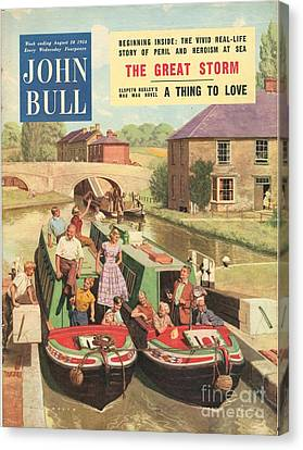 John Bull 1950s Uk Holidays Narrow Canvas Print by The Advertising Archives