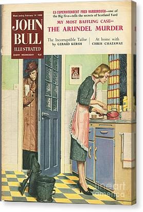 John Bull 1959 1950s Uk Cooking Canvas Print by The Advertising Archives