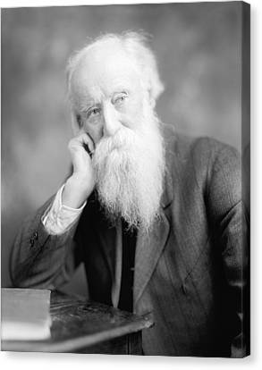 Ewing Canvas Print - John Burroughs, Us Naturalist by Science Photo Library