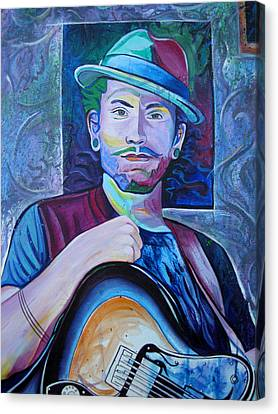 John Butler Canvas Print by Joshua Morton